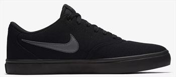 Nike SB Charge Canvas Women's Skate Shoes, UK 6.5 Black/Black