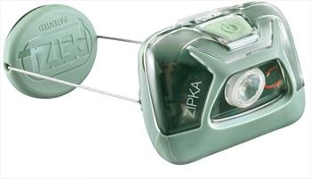 Petzl Zipka Ultra-compact IPX4 Headtorch, 300 Lumens Green
