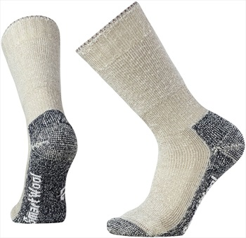 Smartwool Mountaineering Extra Heavy Crew Hiking Socks, 5-7.5 Taupe