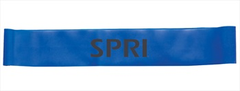SPRI Mini Band Heavy Resistance Band, Blue