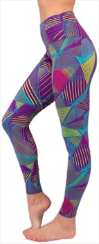 3rd Rock Titan Highline Women's Climbing Leggings, M 80s Retro