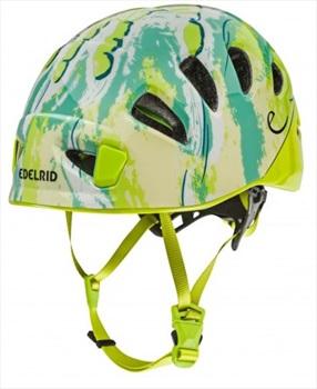 Edelrid Shield 2 Kids Helmet Kids Climbing Helmet, 52 - 62 Cm Oasis