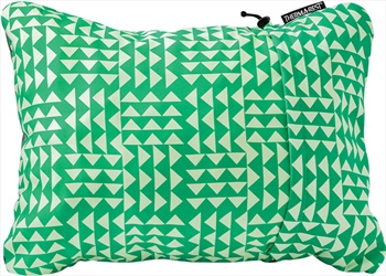 ThermaRest Compressible Travel Pillow Camping Pillow, XL Pistachio