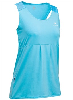 Raidlight Womens Trail Raider Tank Top, L Electric Blue