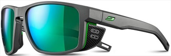 Julbo Shield SP3+ Mountain Sunglasses, Grey/Green