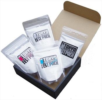 Tokyo Powder Test Box Sample Pack Rock Climbing Chalk, 4 X 50g