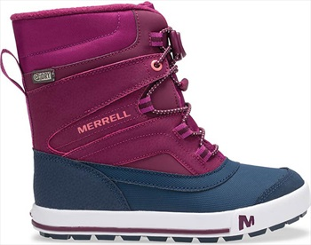 Merrell Snow Bank 2.0 WTPF Kid's Winter Boots, UK Child 13 Berry