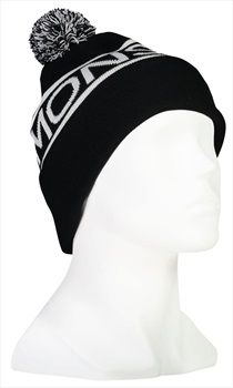 Mons Royale Pom-Pom Beanie Bobble Hat, One Size Black/White
