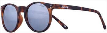 Melon Echo Silver Chrome Polarized Sunglasses, Matte Cosmo