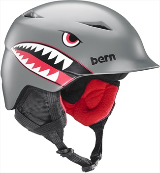 Bern Camino Kid's Ski/Snowboard Helmet, XS-S Grey Flying Tiger