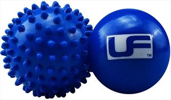 Urban Fitness Equipment Hot Cold Massage Ball Set, Blue