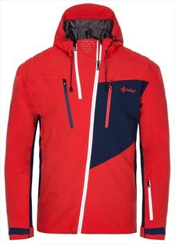 Kilpi Thal Alpine Sport Snowboard/Ski Jacket, 3XL Red/Navy