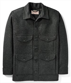 Filson Adult Unisex Mackinaw Cruiser Wool Jacket, M Charcoal