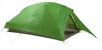 Vaude Hogan SUL 2P Ultralight Backpacking Tent, 2 Man Cress Green