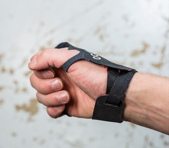 Ocun Crack Gloves Lite Crack Climbing Gloves, L Black/Red