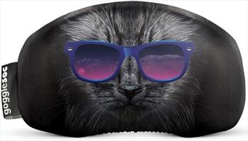 Gogglesoc Soc Ski/Snowboard Lens Cover, Bad Kitty