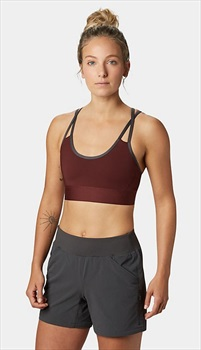 Mountain Hardwear Tonsai Women's Sports Bralette, L Dark Umber