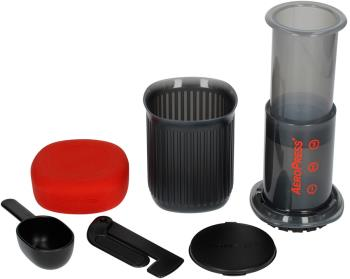 AeroPress Go Compact Travel Coffee Press & Cup, 444ml