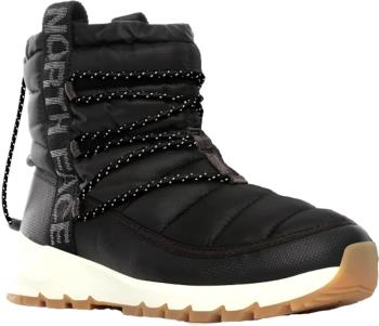 The North Face Adult Unisex Thermoball Lace Iii Women's Snow Boots, Uk 4 Tnf Black