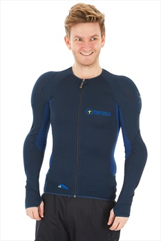 Forcefield Adult Unisex Mons Jacket Level 2 Body Armour, M Navy