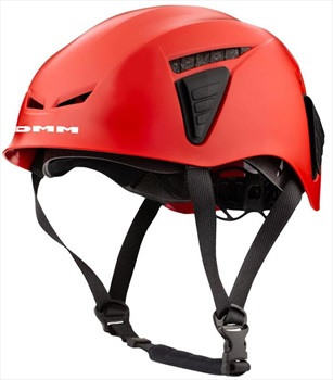 DMM Coron ID Rock Climbing Helmet, 54-62cm Red