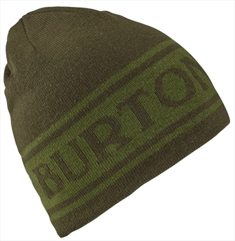 Burton Billboard Reversible Ski/Snowboard Beanie, Clover/Forest Night