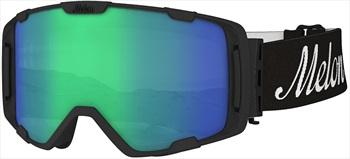 Melon Parker Green Chrome Sonar Snowboard/Ski Goggle, M/L Black