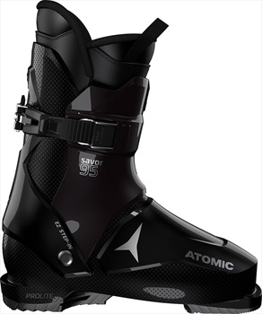 Atomic Savor 95W Ski Boots, 25/25.5 Black/Dark Purple 2020