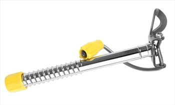 Grivel 360 Ice Screw Easy Rack Climbing Ice Screw, L, Yellow