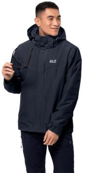 Jack Wolfskin Arland 3-in-1 Insulated Jacket, XL Night Blue