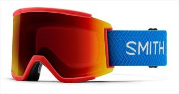 Smith Squad XL CP Sun Red Snowboard/Ski Goggles, M/L Rise Block
