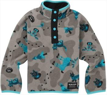 Burton Kid's / Toddler Spark Fleece Anorak, 4T Hide And Seek