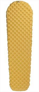 NOMAD® Airtec Sleeping Mat Ultralight Hiking Air Mattress, Regular Yellow