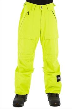 O'Neill Hammer Snowboard/Ski Pants, L Lime Punch