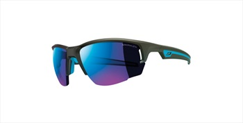 Julbo Venturi SP3+ Trail Running Sunglasses, Matt Black/Blue