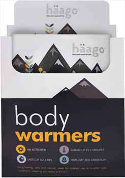 Haago Disposable Recyclable Body Warmer, 20 Patches