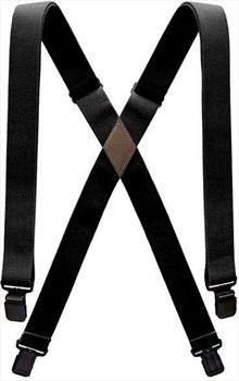 Arcade Ski/Snowboard Braces Jessup Suspenders, One Size Black