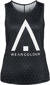Wearcolour Logo Women's Tank Top, L Black Magic