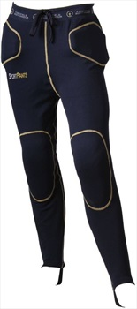 Forcefield Sport Pants Level 1 Impact Crash Pants, L Navy/Yellow