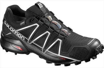 Salomon Speedcross 4 GTX Men's Trail Running Shoe, UK 8 Black/Black