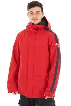Sessions Scout Ski/Snowboard Jacket, M Deep Red
