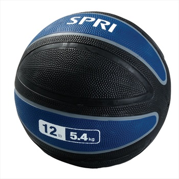 SPRI Xerball Medicine Ball, 5.4 KG Blue