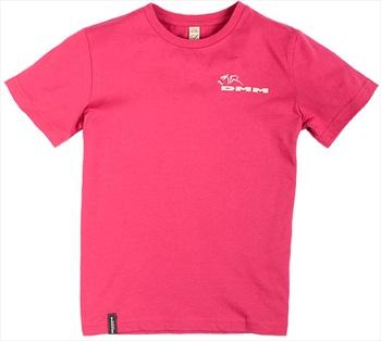 DMM Climb Now Homework Later Kids Rock Climbing T-Shirt, 11-12 Pink
