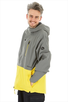 Bonfire Ether Men's Ski/Snowboard Jacket, XL Charcoal