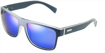 Sinner Skagen Sintec Winter/Summer Blue Oil Wayfarer Sunglasses, Blue