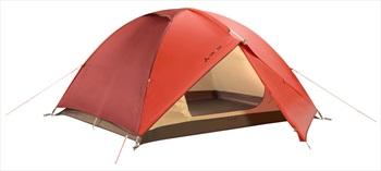 Vaude Campo Lightweight Camping Tent, 3 Man Terracotta