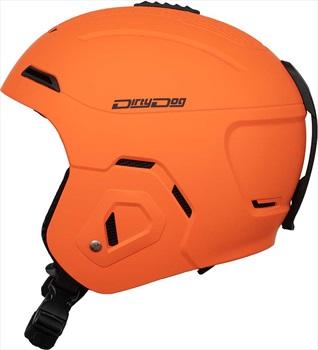 Dirty Dog Adult Unisex Pulsar Snowboard/Ski Helmet, S Orange