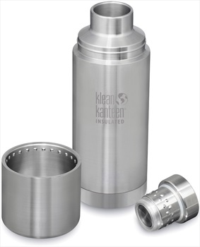 Klean Kanteen TKPro Insulated Stainless Steel Water Bottle, Brushed