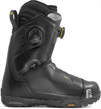 Nidecker HyLite Focus Boa Snowboard Boots, UK 8 Black 2020