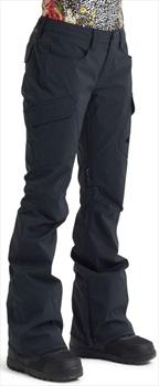 Burton Gore-Tex Gloria Short Women's Ski/Snowboard Pants, S Black 2020